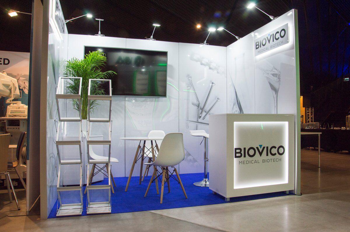 Medyczne stoisko konferencyjne Biovico, MCK Katowice