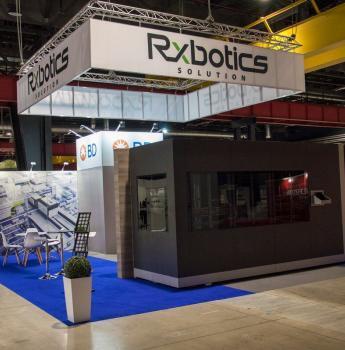 Stoisko targowe z nadwieszeniem Pharmacy Show Warszawa, Global Expo