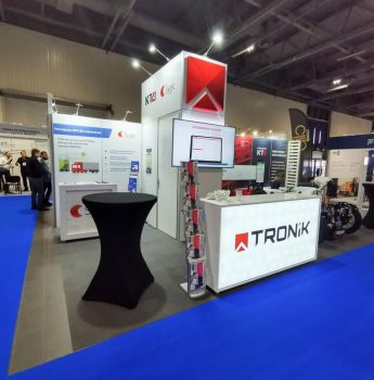 Zabudowa stoiska targowego na targi Translogistica Warszawa EXPO XXI